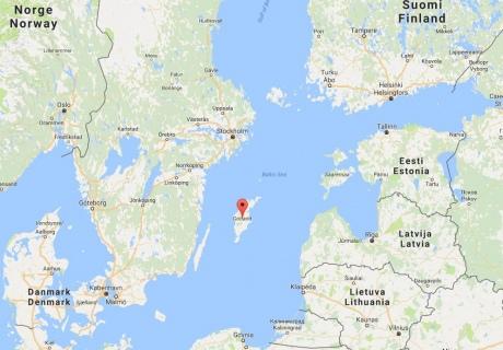 Швеция расположила войска наострове вБалтийском море