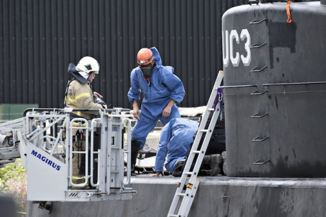 УДанії винахідника звинуватили увбивстві жінки на підводному човні