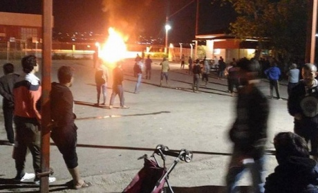 Впроцессе протестной акции вГреции случилось столкновение милиции имигрантов