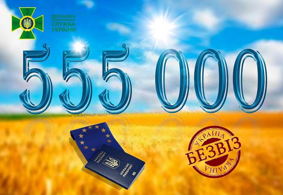 Безвізом з ЄС за перший рік скористалися 555 тисяч громадян України  (12.99 15) dbbe4227115e9
