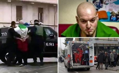 ВИталии задержали мужчину, стрелявшего на дорогах помигрантам