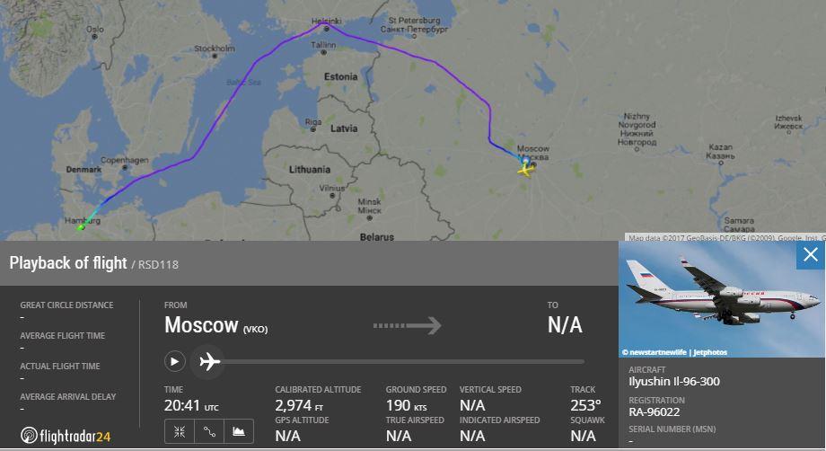 Путін побоявся пролітати над Польщею дорогою наG20