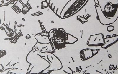 Charlie Hebdo шокував щеоднією скандальною карикатурою
