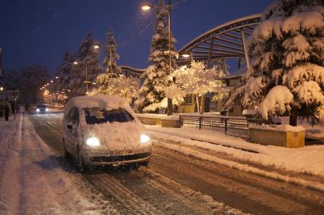 ВИспании объявлено чрезвычайное положение из-за снегопадов
