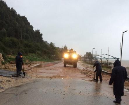НАТО получила запрос опомощи отАлбании всвязи смасштабными наводнениями