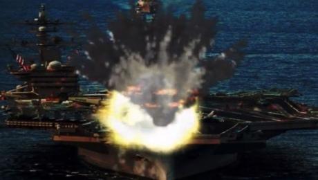 КНДР опублікувала відео «знищення» літаків і авіаносця США