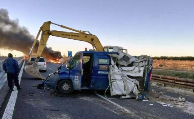 В Італії злодії зухвало пограбували інкасаторський фургон