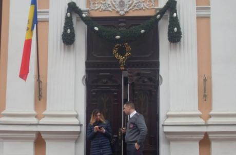 Срезиденции президента Молдавии сняли флаг европейского союза