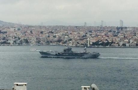 397f75d-1 В Черное море вошел флагман 6 флота США