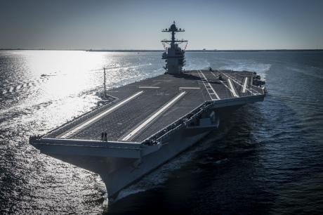 Флот США прийняв перший авіаносець нового класу Gerald R. Ford
