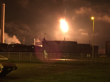 У Нідерландах горів найбільший у Європі нафтопереробний завод