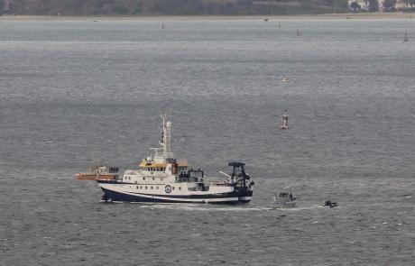 Англия сообщила овторжении испанского корабля втерриториальные воды близ Гибралтара