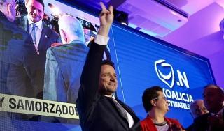 Новий мер Варшави Рафал Тжасковський - представник опозиційної коаліції