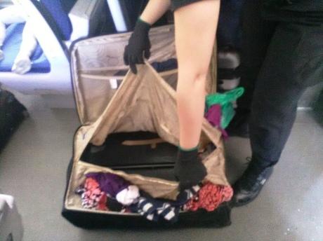 Гражданка Украины пробовала провезти вПольшу сына вчемодане