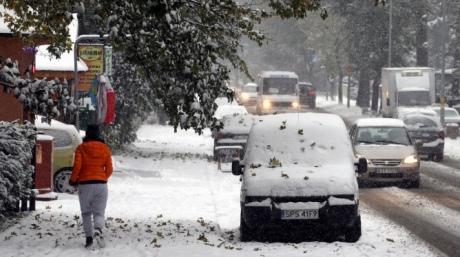 Перші снігопади вПольщі принесли жертви