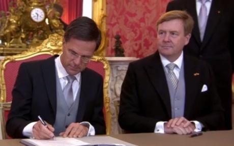Марк Рютте втретє призначений прем'єр-міністром Нідерландів