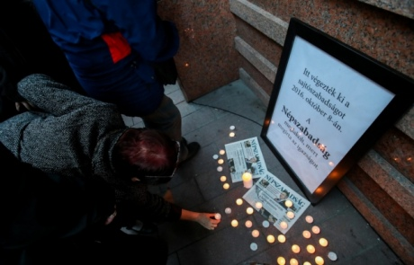 ВВенгрии неожиданно прекратила работу главная оппозиционная газета