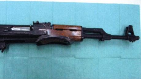 ВНидерландах поймали предполагаемого террориста савтоматом Калашникова