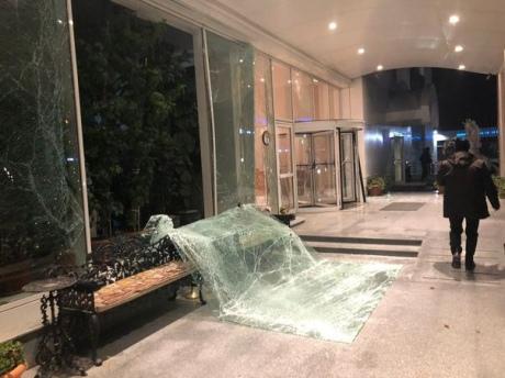 ЧП в столице Турции: Мощный взрыв произошел в здании Налоговой службы