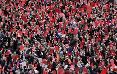 В Чехии прошла демонстрация с требованием отставки президента