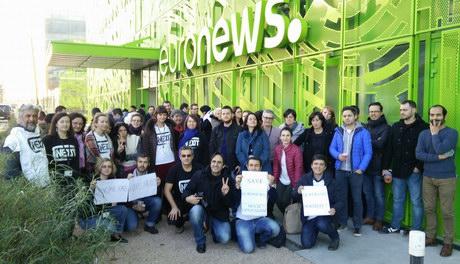 Репортеры Euronews выступили против закрытия украиноязычного канала