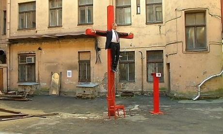 Латыши приравняли Путина к Иисусу Христу