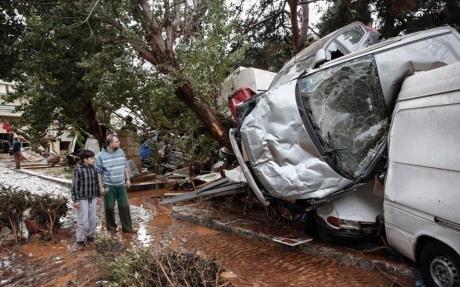 Жахлива повінь уГреції: загинуло 15 осіб