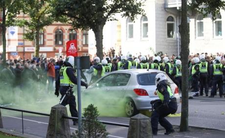 УШвеції пройшов марш неонацистів, затримано 60 осіб