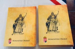 Документ-папка про натуралізацію угорця