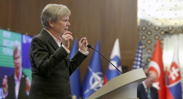 Під час виступу на Київському безпековому форумі