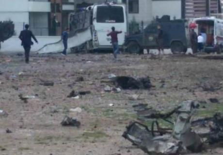 При теракте вТурции погибло 7 полицейских и27 человек получили ранения