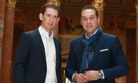 Австрія: партія Курца домовилася про коаліцію із правою Партією свободи
