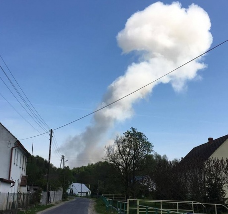 Сильний вибух пролунав напороховому заводі вПольщі: є постраждалі