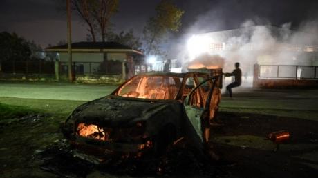 ВГреции произошли столкновения между полицией имигрантами
