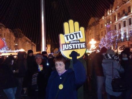 ВРумынии прошел многотысячный митинг против судебной реформы