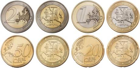 """Литва перешла на евро, \""""завершив интеграцию Балтии в ЕС\"""""""