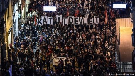 УТуреччині почалися антиурядові демонстрації через теракт устолиці