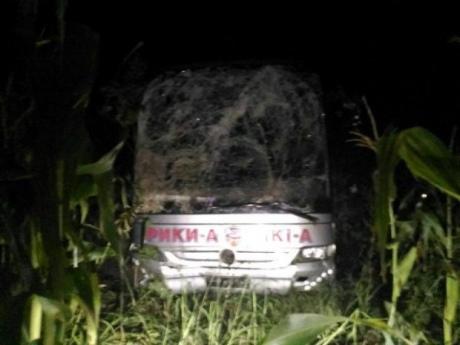 ВРумынии вДТП попал автобус сгражданами государства Украины