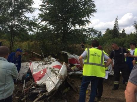 Вблизи Будапешта столкнулись два легкомоторных самолета, четверо погибших