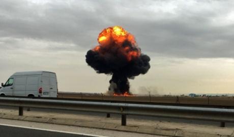 В Іспанії вдруге затиждень розбився винищувач, пілот загинув
