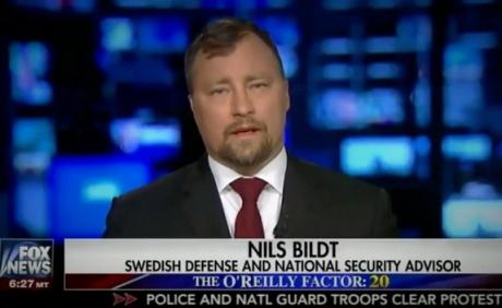 Вэфире Fox News показали вымышленного советника изШвеции