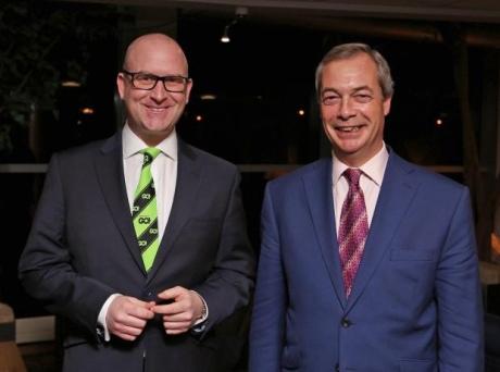 Пол Наттолл займет позицию Фараджа напосту председателя Партии независимости Великобритании