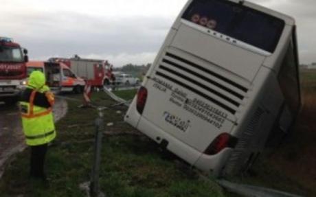 ВРумынии автобус сукраинскими туристами попал вДТП