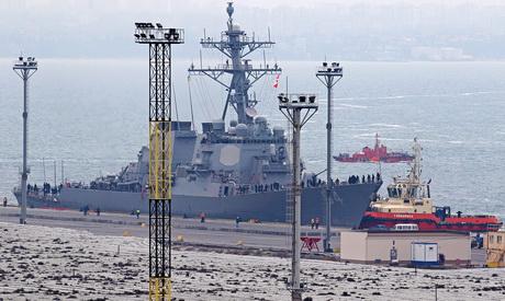 Американський есмінець Carney зайшов упорт Одеси