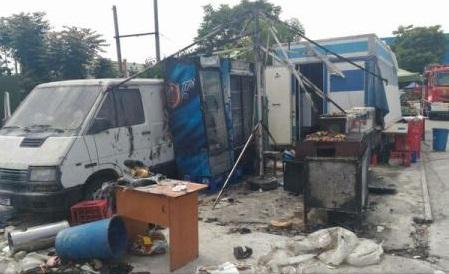 ВБухаресте взрыв нарынке в клинику  попали 12 человек