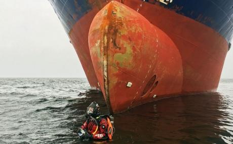 УШвеції затримали двох п'яних росіян закерування вантажним судном