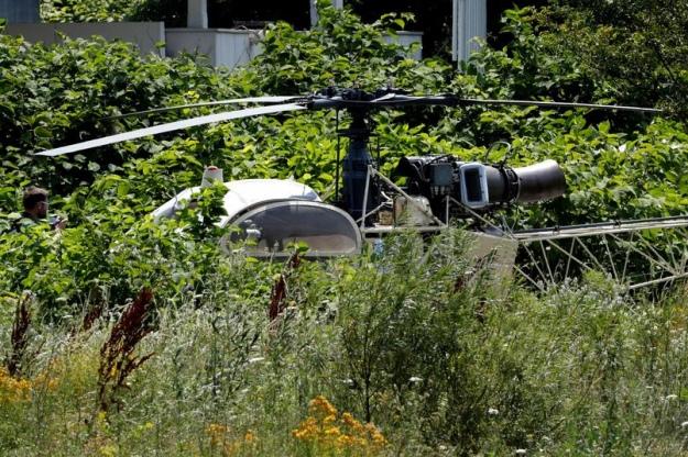 Во Франции гангстер сбежал из тюрьмы на вертолете - видео