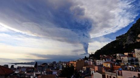 Извержение Этны признано сильнейшим запоследние 20 лет