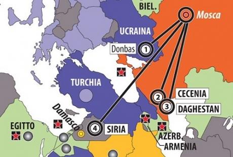 Італійський журнал «приєднав» Крим доРосії