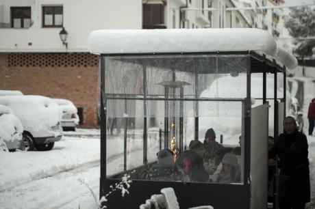 ВИспании прошли сильнейшие запоследние 35 лет снегопады